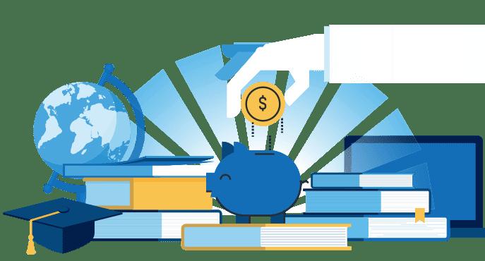 Economizar com estudos
